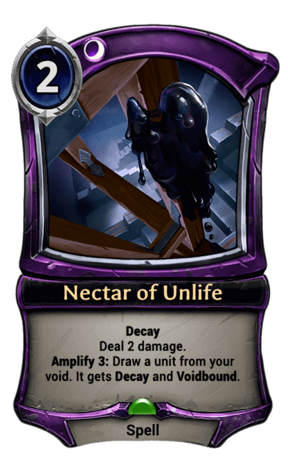 Card image for Nectar of Unlife