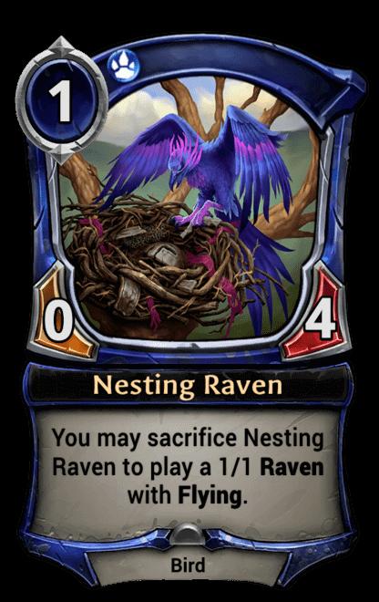 Card image for Nesting Raven