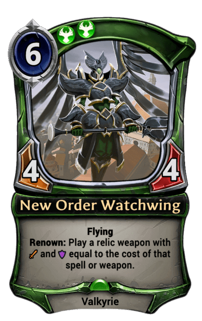 Card image for New Order Watchwing