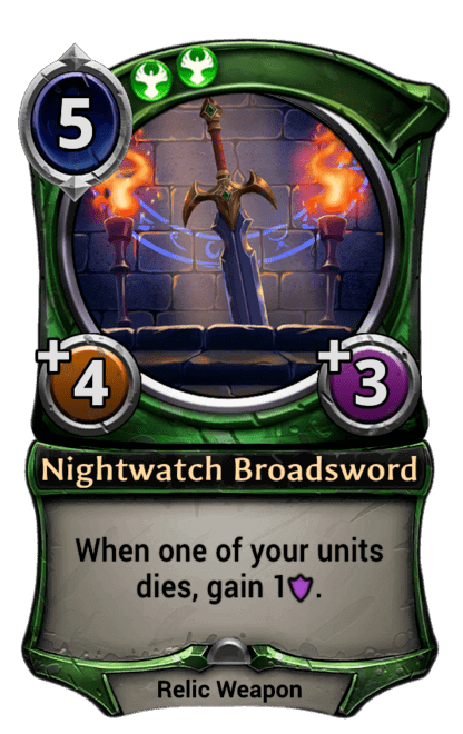 Card image for Nightwatch Broadsword