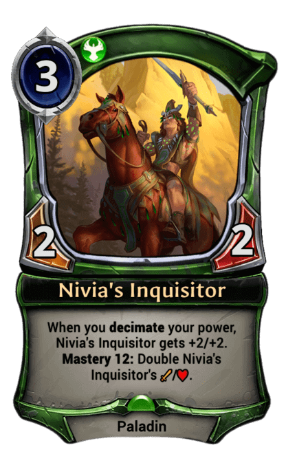 Card image for Nivia's Inquisitor