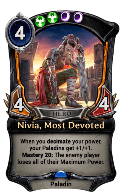 Card image for Nivia, Most Devoted