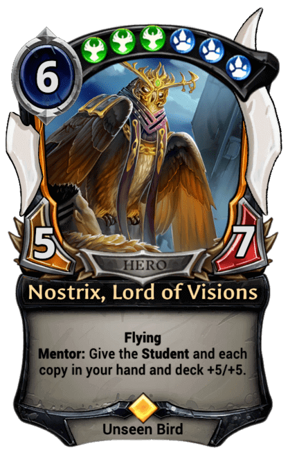 Card image for Nostrix, Lord of Visions