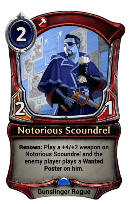 Card image for Notorious Scoundrel