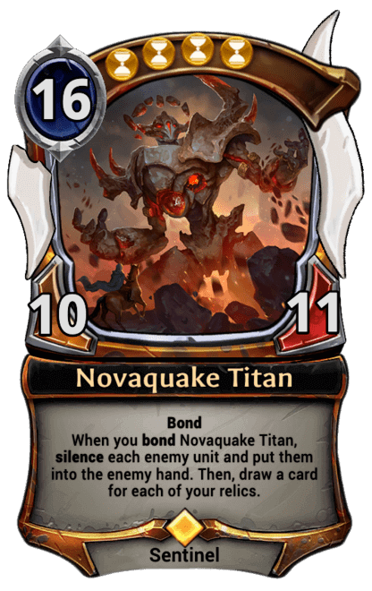 Card image for Novaquake Titan