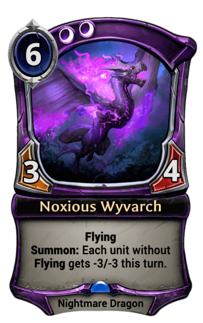 Card image for Noxious Wyvarch