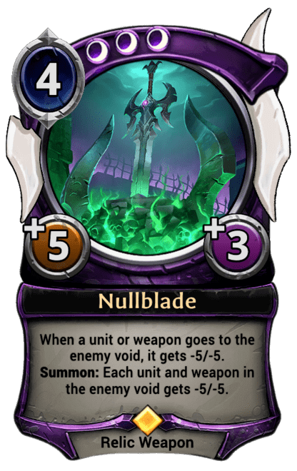 Card image for Nullblade