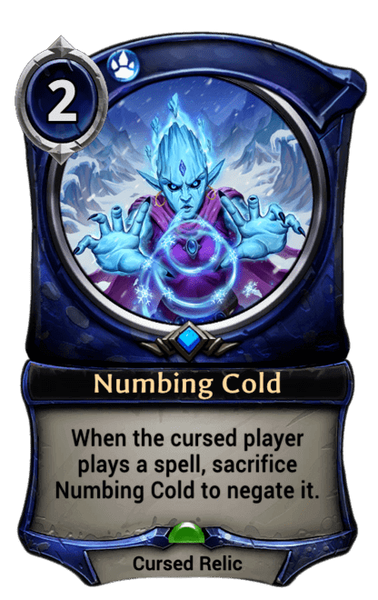 Card image for Numbing Cold