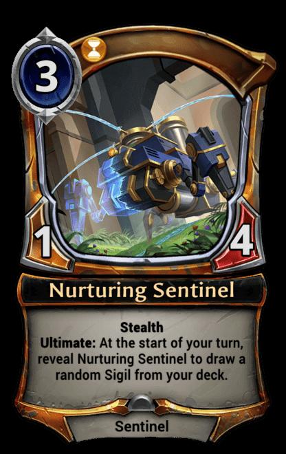 Card image for Nurturing Sentinel