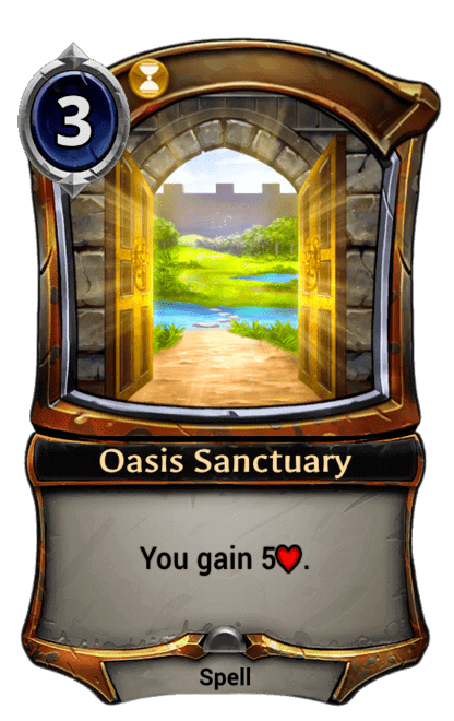 Card image for Oasis Sanctuary