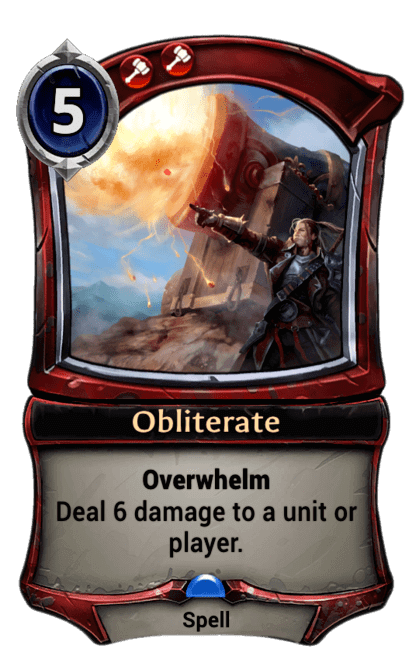 Card image for Obliterate