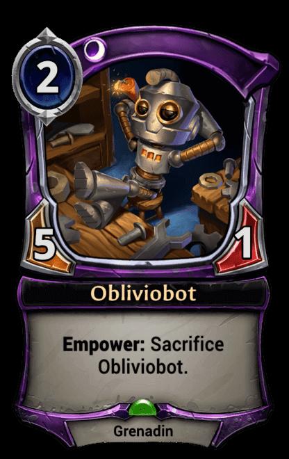 Card image for Obliviobot