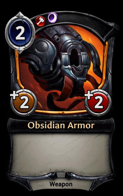Card image for Obsidian Armor