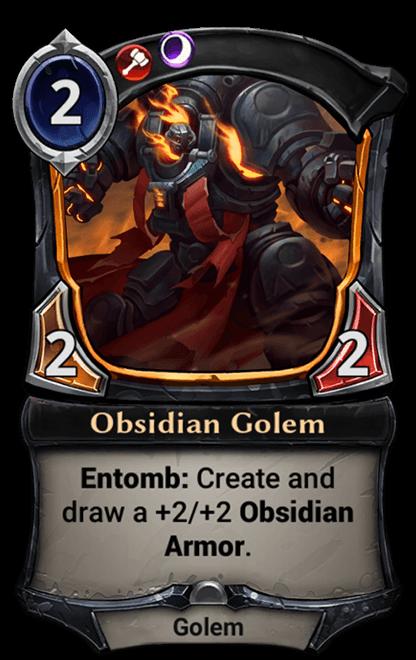 Card image for Obsidian Golem