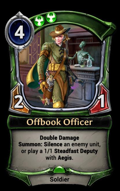 Card image for Offbook Officer