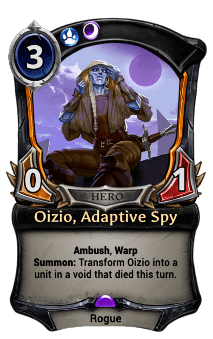 Card image for Oizio, Adaptive Spy
