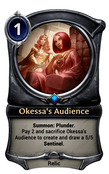Card image for Okessa's Audience