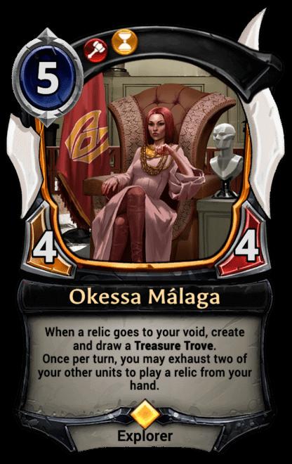 Card image for Okessa Málaga