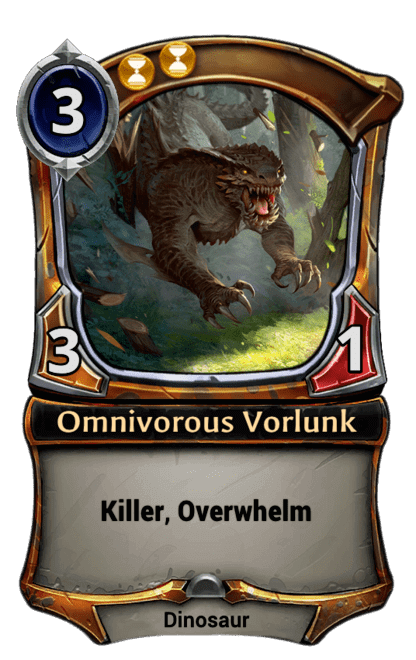 Card image for Omnivorous Vorlunk