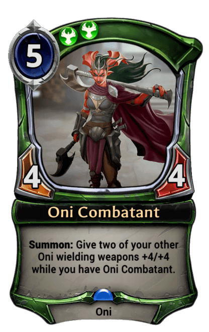 Card image for Oni Combatant
