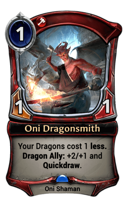 Card image for Oni Dragonsmith