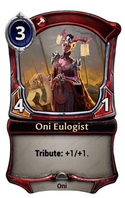 Card image for Oni Eulogist