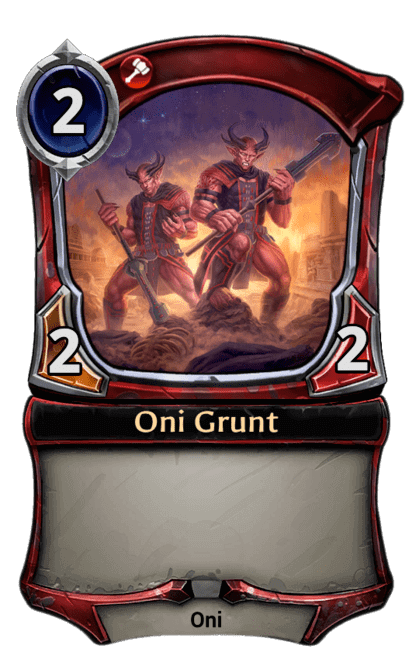 Card image for Oni Grunt