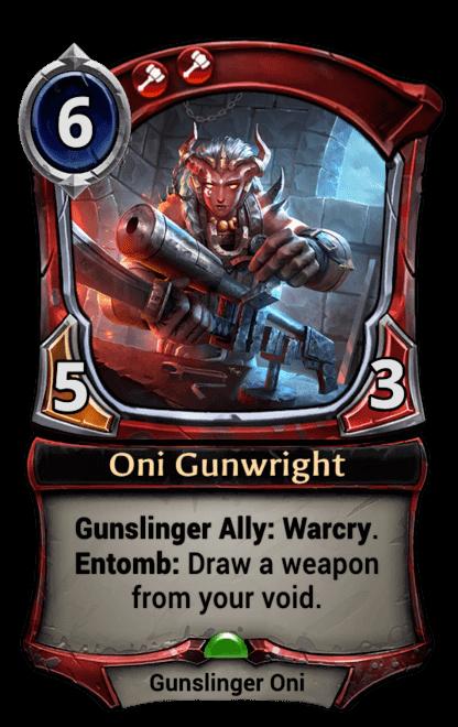 Card image for Oni Gunwright