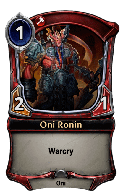 Card image for Oni Ronin