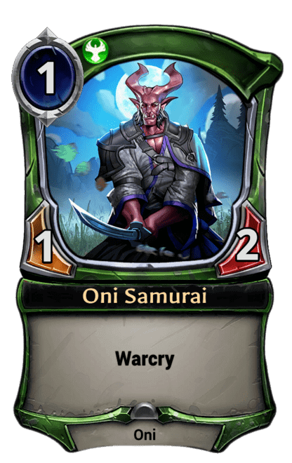 Card image for Oni Samurai