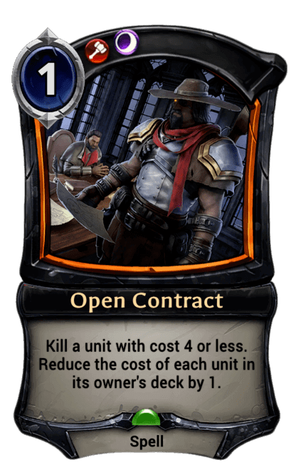 Card image for Open Contract