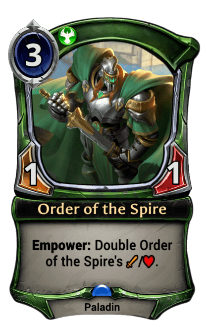 Card image for Order of the Spire