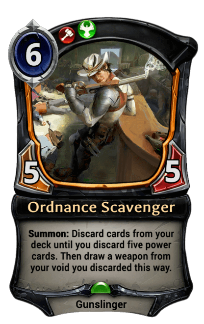Card image for Ordnance Scavenger