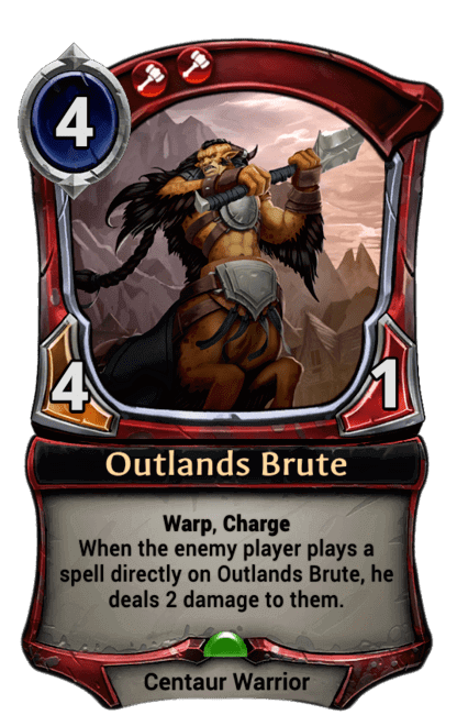Card image for Outlands Brute