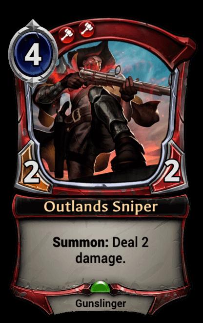 Card image for Outlands Sniper