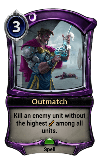 Card image for Outmatch