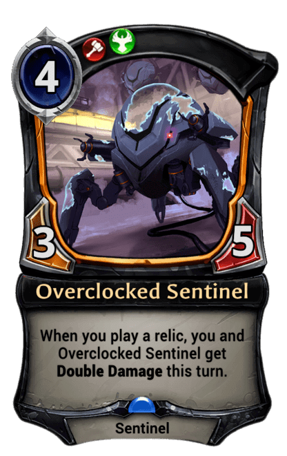 Card image for Overclocked Sentinel