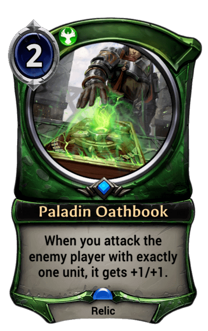 Card image for Paladin Oathbook