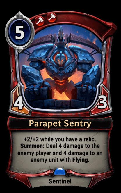 Card image for Parapet Sentry