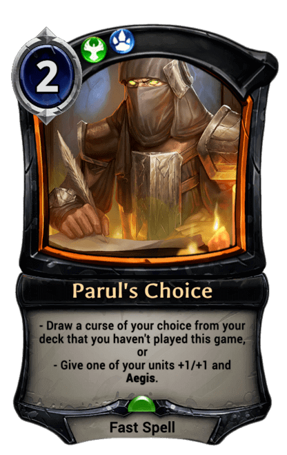 Card image for Parul's Choice