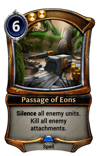 Card image for Passage of Eons