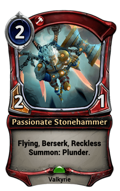 Card image for Passionate Stonehammer