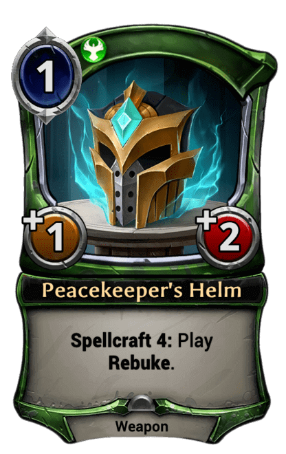 Card image for Peacekeeper's Helm