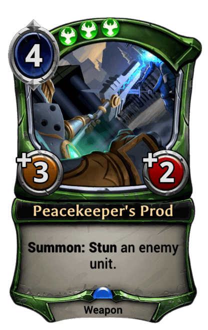 Card image for Peacekeeper's Prod