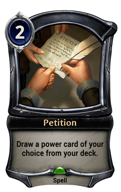 Card image for Petition