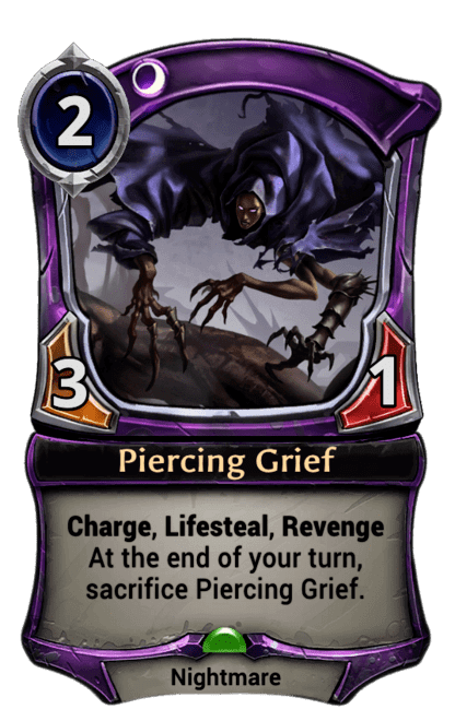 Card image for Piercing Grief