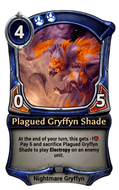 Card image for Plagued Gryffyn Shade