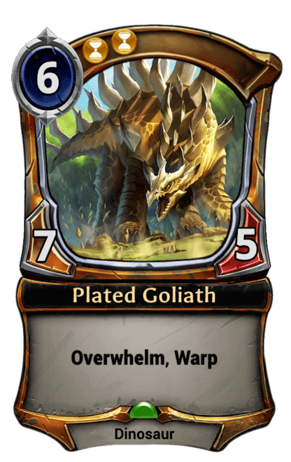 Card image for Plated Goliath