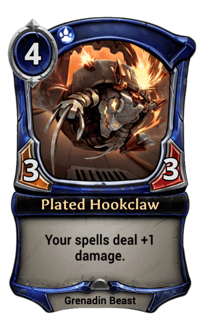Card image for Plated Hookclaw