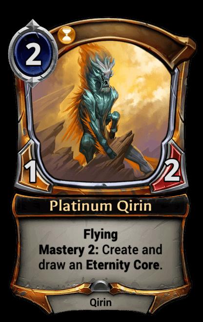 Card image for Platinum Qirin